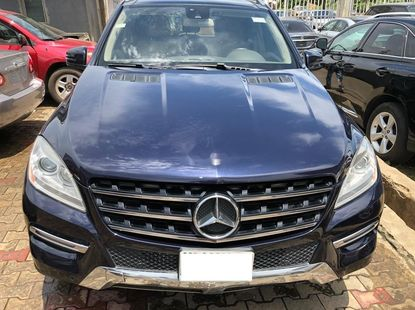 Naija Used 2013 Mercedes-Benz ML350 for sale