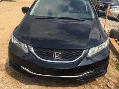 Foreign Used 2013 Black Honda Civic for sale in Abuja.
