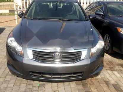Foreign Used 2009 Grey Honda Accord for sale in Lagos.