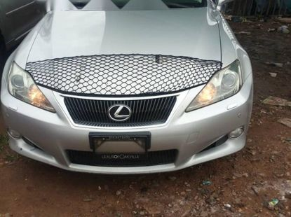 Foreign Used Open Roof Lexus IS 2010 Model