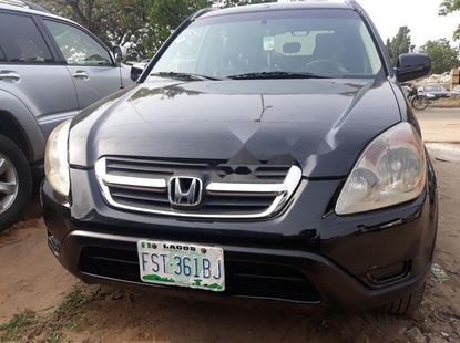 Nigeria Used Honda CR-V 2004 Model Black