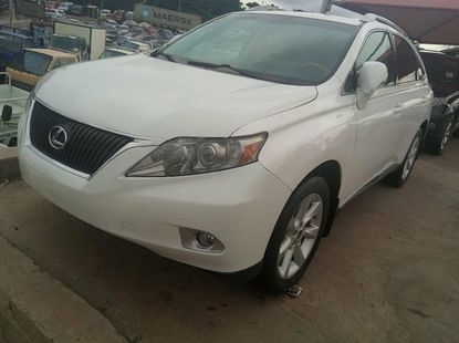 Foreign Used Lexus RX 2010 Model White