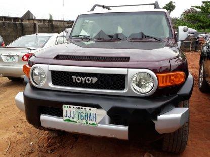 Nigeria Used Toyota FJ CRUISER 2007 Model Red