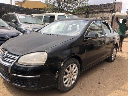 Nigeria Used Volkswagen Jetta 2006 Model Black