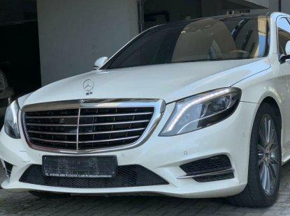 Nigeria Used Mercedes-Benz S500 2014 Model White