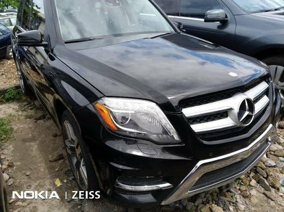 Foreign Used 2014 Black Mercedes-Benz GLK for sale in Lagos.