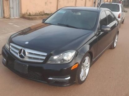 Foreign Used Mercedes-Benz C300 2013 Model Black