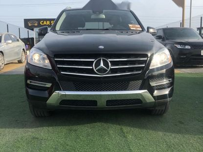 Foreign Used Mercedes-Benz ML350 2013 Model Black