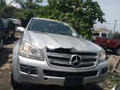 Tokunbo Mercedes-Benz GL-Class 2008 Model Silver