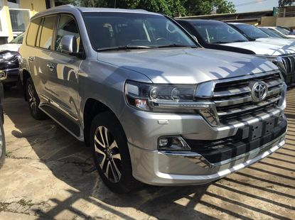 Foreign Used Toyota Land Cruiser 2020 Model Silver