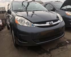 Foreign Used 2008 Grey Toyota Sienna for sale in Lagos.