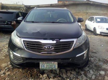 Nigeria Used Kia Sportage 2013 Model Black