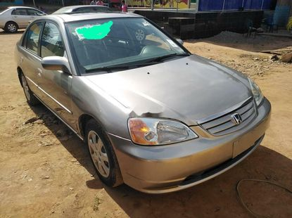 Foreign Used Honda Civic 2003 Model Gold