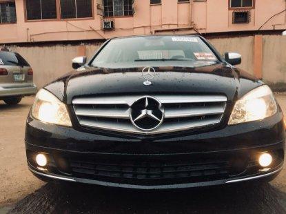 Tokunbo Mercedes-Benz C300 2008 Model Black