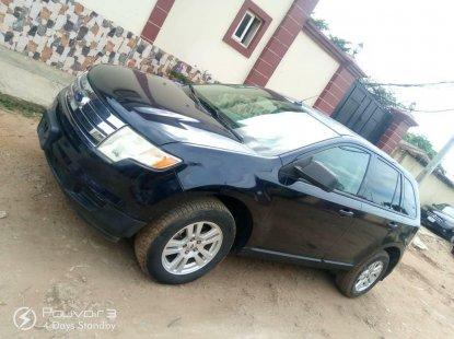 Nigeria Used Ford Edge 2008 Model Black