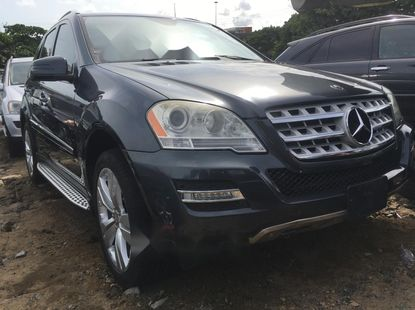 Clean Foreign Used 2010 Mercedes-Benz ML350 for sale