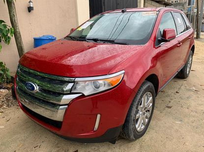 Super Clean Tokunbo Red Ford Edge