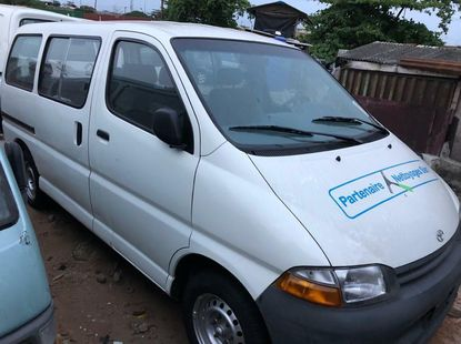 Foreign Used Toyota HiAce 2002 Model White
