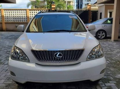 Foreign Used Lexus RX 2007 Model White