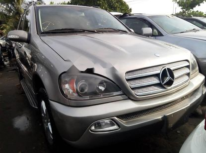 Foreign Used Mercedes-Benz ML350 2005 Model Silver