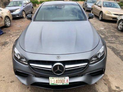 Nigeria Used Mercedes-Benz E63 2018 Model Gray