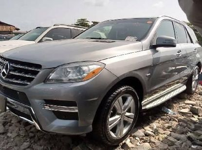 Foreign Used Mercedes-Benz ML350 2013 Model Silver