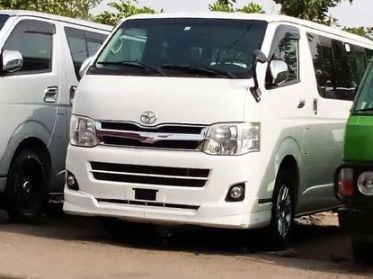 Foreign Used Toyota HiAce 2014 Model White