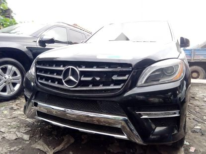 Foreign Used Mercedes-Benz ML 2013 Model Black