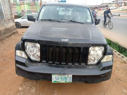 Clean Toks Jeep Liberty 2010 Model for sale