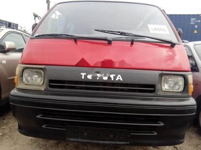 Foreign Used Toyota HiAce 1995 Model Red