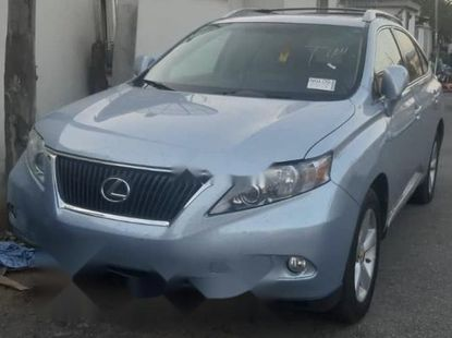 Foreign Used Lexus RX 2010 Model Blue