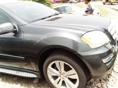 Foreign Used Mercedes-Benz ML350 2011 Model Gray