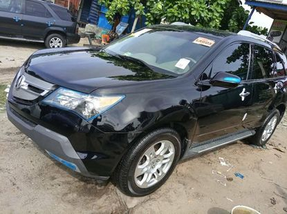 Foreign Used 2008 Black Acura MDX for sale in Lagos.