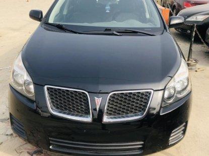 Foreign Used Pontiac Vibe 2009 Model Black