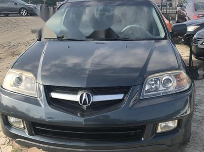 Foreign Used Acura MDX 2004 Model Gray