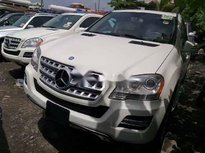 Foreign Used Mercedes-Benz ML350 2010 Model for sale