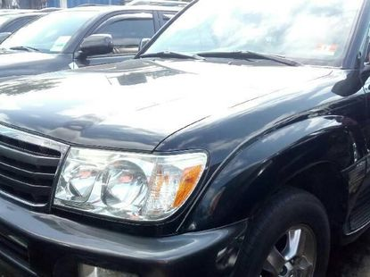Foreign Used Toyota Land Cruiser 2007 Model Black