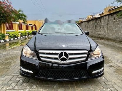 Foreign Used Mercedes-Benz C300 2012 Model Black