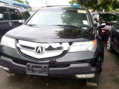 Super Clean Foreign Used 2008 Black Acura MDX for sale in Lagos.