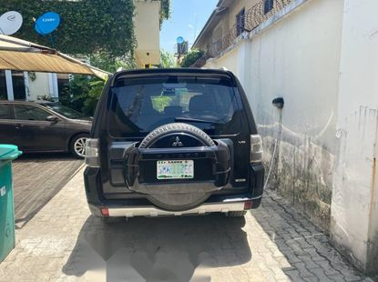 Foreign Used Mitsubishi Pajero 2010 Model Black
