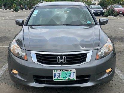 Naija Used 2009 Dark Blue Honda Accord for sale in Lagos.