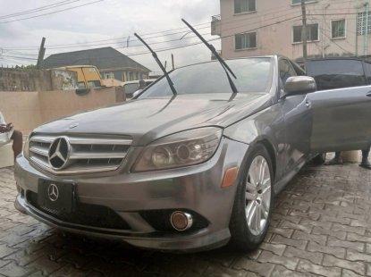 Nigeria Used Mercedes-Benz C300 2008 Model Silver