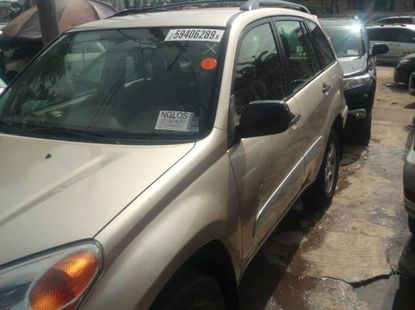 Foreign Used 2004 Toyota RAV4 for sale