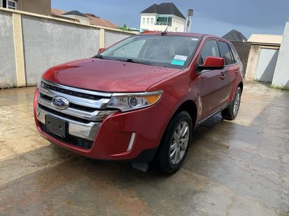 Foreign Used Ford Edge 2011 Model Red