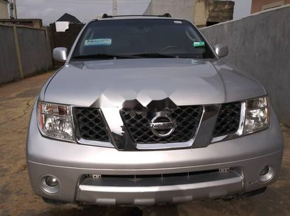 Foreign Used 2007 Silver Nissan Pathfinder for sale in Lagos.