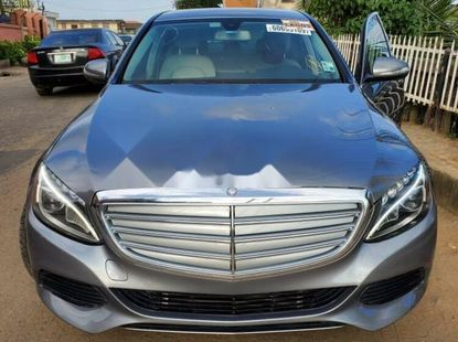 Foreign Used 2016 Grey Mercedes-Benz C300 for sale in Lagos