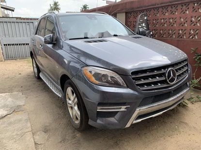 Neatly Foreign Used Mercedes-Benz ML350 2012 Model for Sale