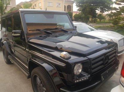 Tokunbo Mercedes-Benz G550 2012 Model Black