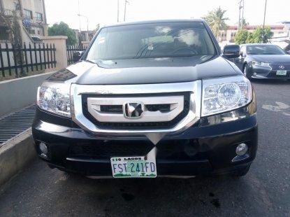 Nigeria Used Honda Pilot 2009 Model Black