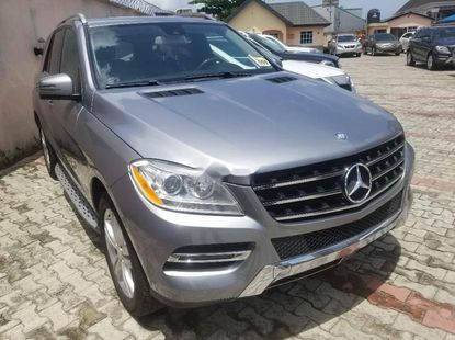 Foreign Used 2014 Grey Mercedes-Benz ML350 for sale